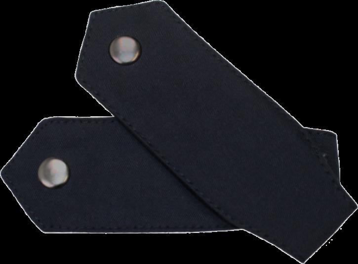 Schulterklappenpaar mit Druckknopf, Spitze Form
