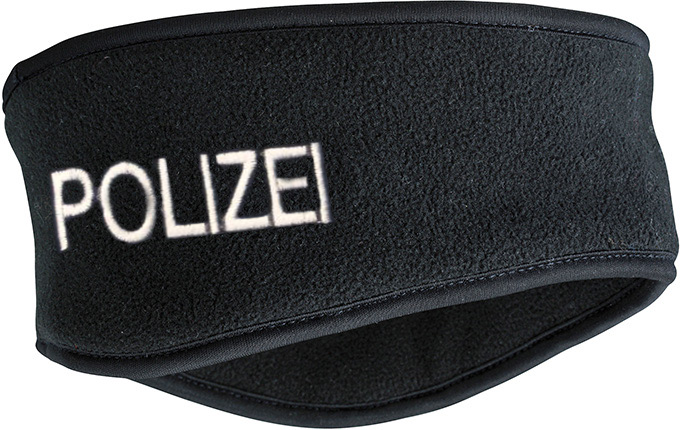 Thinsulate™ Headband POLIZEI, schwarz