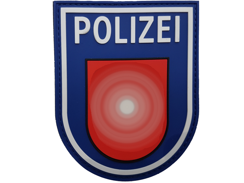 Rubber Patch Polizei Niedersachsen